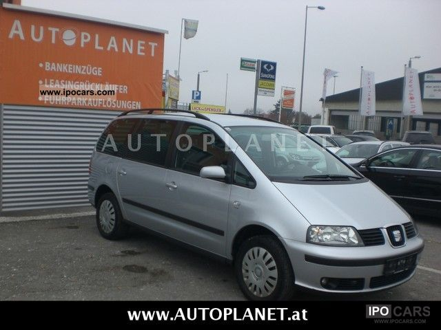 2007 Seat  Alhambra 1.9 TDI FAMILY NET = 6990, - Van / Minibus Used vehicle photo