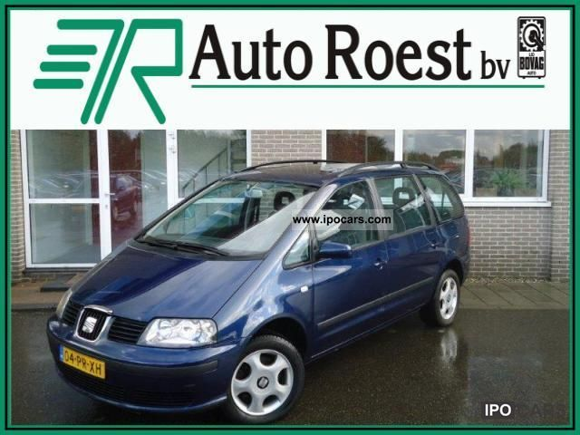 Seat  Alhambra 2.0 Sport Rider 2004 Liquefied Petroleum Gas Cars (LPG, GPL, propane) photo