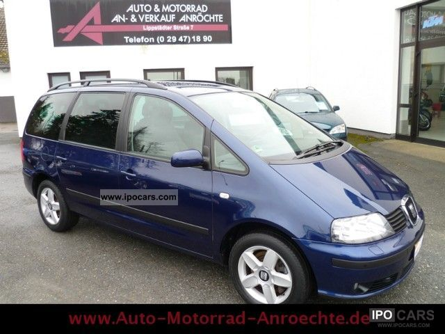 2004 Seat  Alhambra 1.8 20V Turbo Air 7Sitz. TOP! Van / Minibus Used vehicle photo