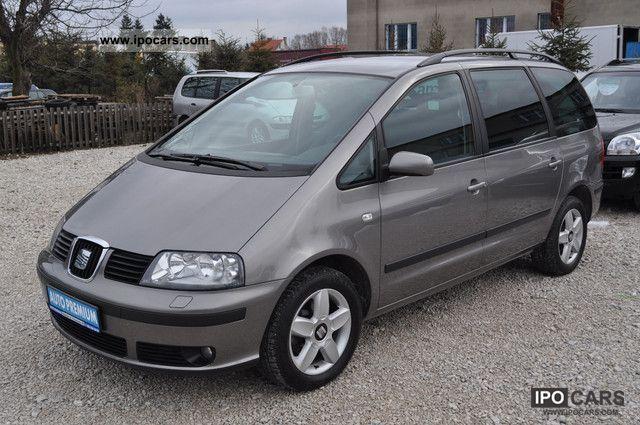 2004 Seat  130 hp Alhambra 7 seats Kliamautomatic Van / Minibus Used vehicle photo