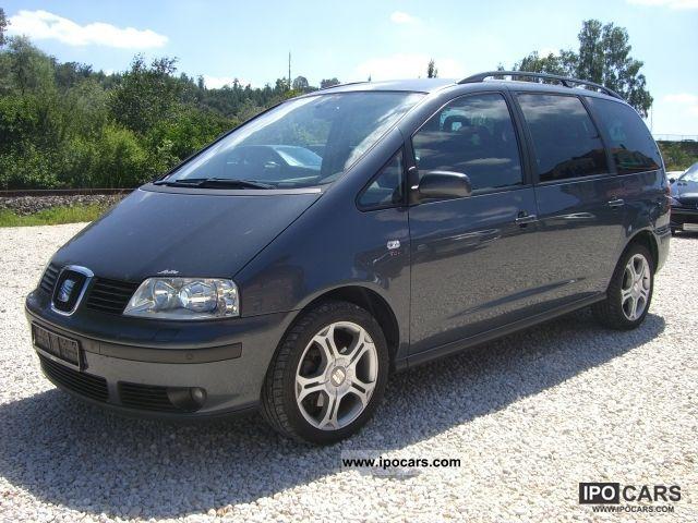 2007 Seat  Alhambra 2.0 TDI DPF Sport Navi + Xenon + € 4 Van / Minibus Used vehicle photo