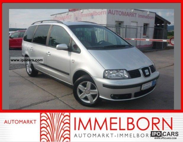 2006 Seat  6Sitze Alhambra 1.9 TDI * AHK * SHZ 16lm * Klimaautom Van / Minibus Used vehicle photo
