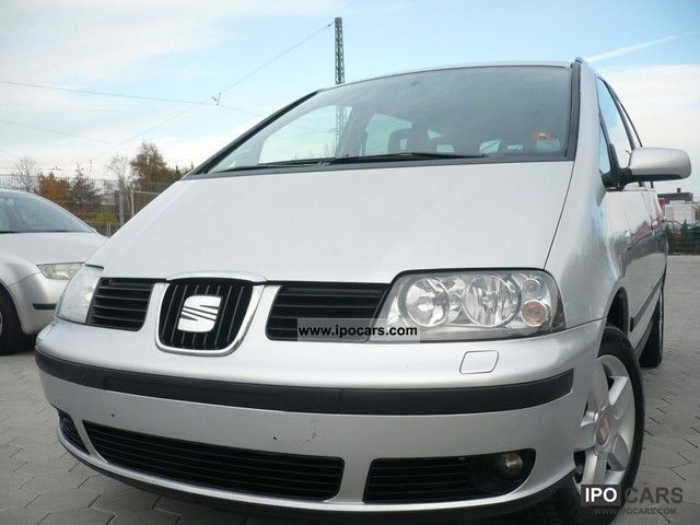 2007 Seat  Alhambra 2.0 TDi Vigo * AIR * PDC * 1.HAND * Van / Minibus Used vehicle photo