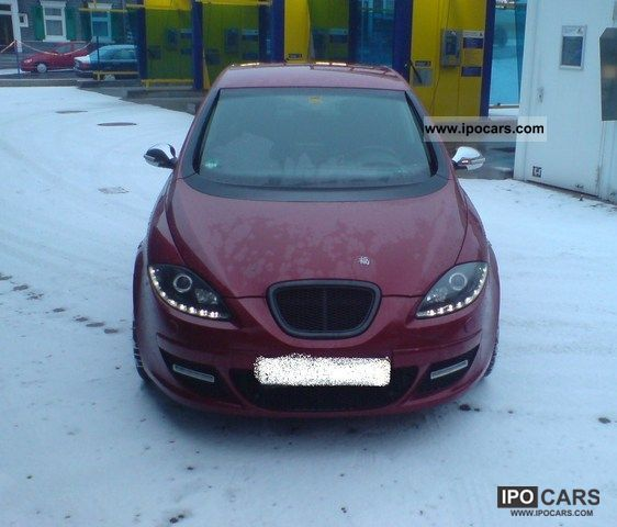 2006 Seat  1.Hand, climate, navigation, Euro4, Vollauss., Private Limousine Used vehicle photo
