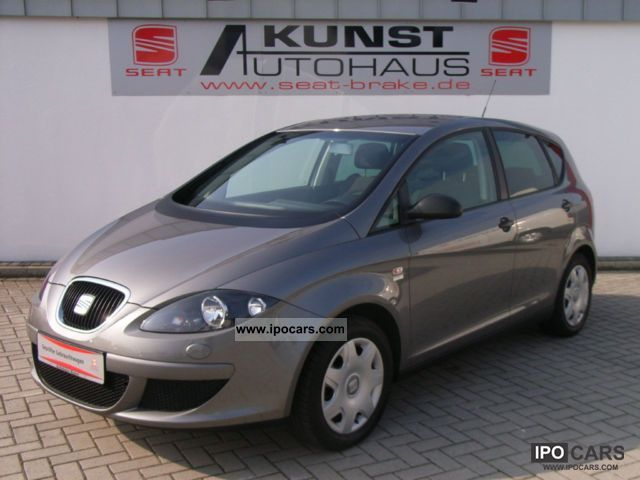 Seat  Altea 1.6 Reference Comfort LPG! 2008 Liquefied Petroleum Gas Cars (LPG, GPL, propane) photo