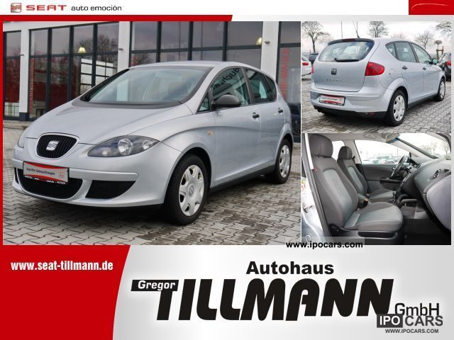 Seat  Altea 1.6 Reference (power windows) 2008 Liquefied Petroleum Gas Cars (LPG, GPL, propane) photo