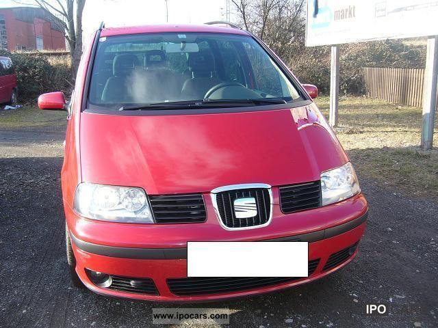 2009 Seat  Alhambra 2.0 TDI - 7 seater Van / Minibus Used vehicle photo