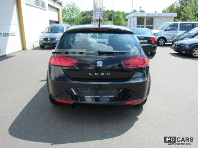 2010 seat leon 1 6 stylance car photo and specs. Black Bedroom Furniture Sets. Home Design Ideas