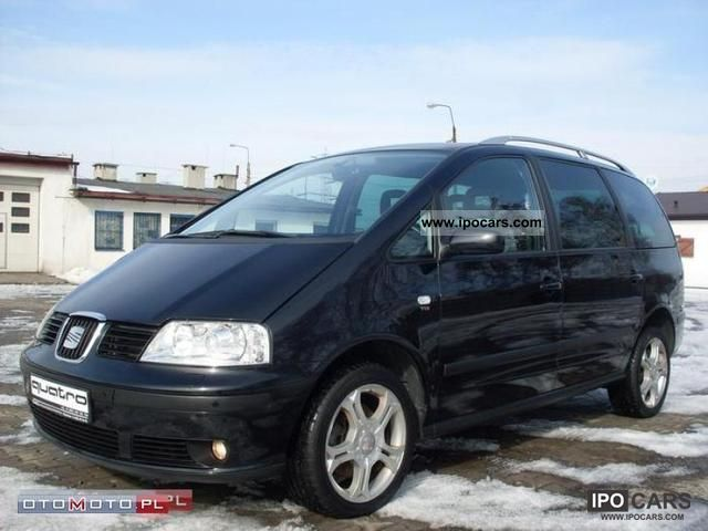 2009 Seat  Alhambra KOLOR NAVI climate control 7 osob Small Car Used vehicle photo