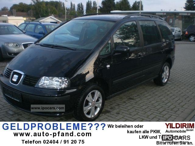 2009 Seat  Alhambra 1.9 TDI Reference, 1Hd.Scheckheft, Van / Minibus Used vehicle photo
