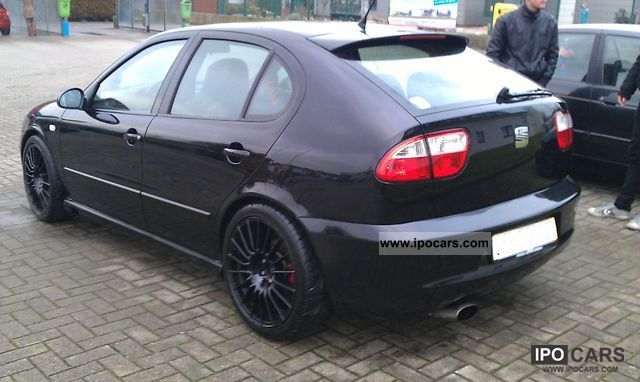 2003 seat 1m cupra r car photo and specs. Black Bedroom Furniture Sets. Home Design Ideas