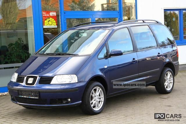 2006 Seat  Alhambra 1.9 TDI DPF green sticker 7-seater Estate Car Used vehicle photo
