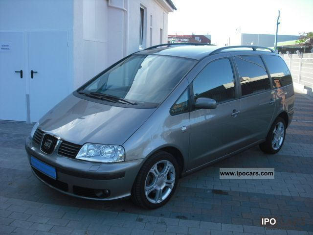 2009 Seat  Alhambra 2.0 TDI DPF Sport, Navi, Xenon, 17 \ Van / Minibus Used vehicle photo