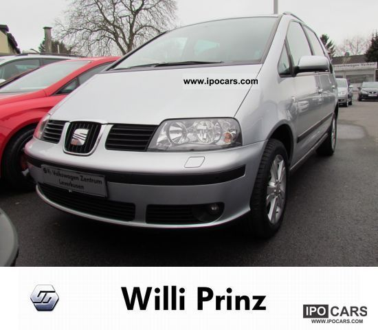 2009 Seat  Alhambra 2.0 TDI AIR NAVIGATION PDC AHK SHZ Van / Minibus Used vehicle photo