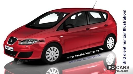 Seat  Altea 1.6 Reference LPG (liquefied petroleum gas) model 2012 2011 Liquefied Petroleum Gas Cars (LPG, GPL, propane) photo