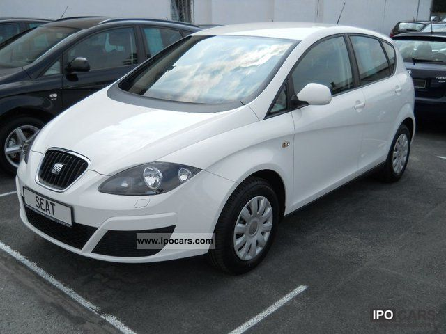 Seat  Altea 1.6 Reference LPG winter package immediately! 2011 Liquefied Petroleum Gas Cars (LPG, GPL, propane) photo