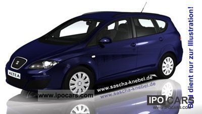 Seat  Altea XL 1.6 Reference LPG (liquefied petroleum gas) Mod 2012 2011 Liquefied Petroleum Gas Cars (LPG, GPL, propane) photo