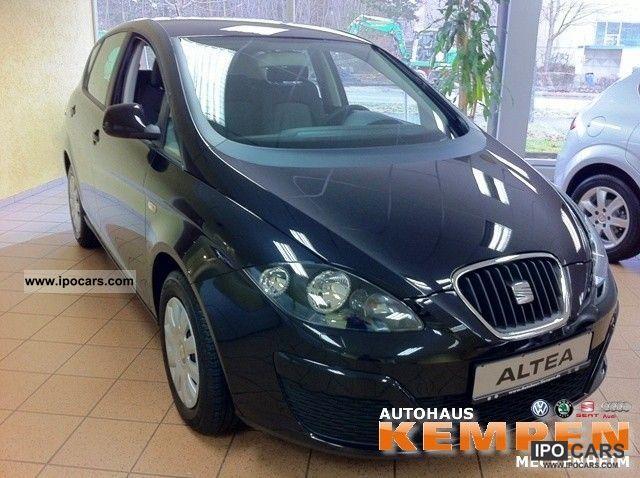 2011 Seat  Altea 1.6 TDI CR Ecomotive Reference Climate Limousine Employee's Car photo