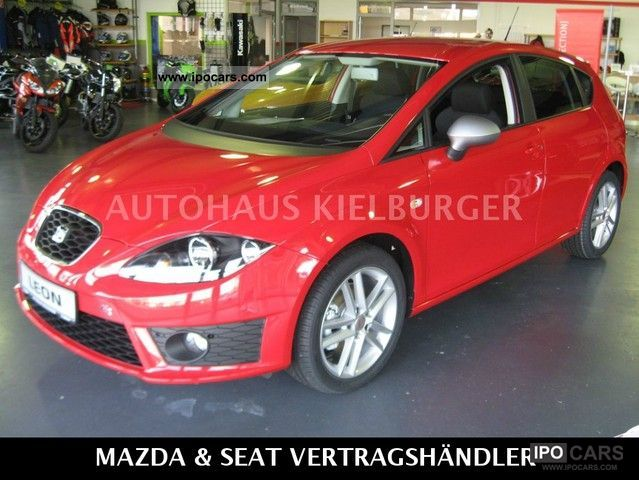 2012 seat leon 1.8 tsi fr - car photo and specs