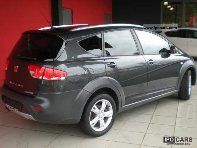 2009 seat altea freetrack 4x4 2 0 tdi xenon navi. Black Bedroom Furniture Sets. Home Design Ideas