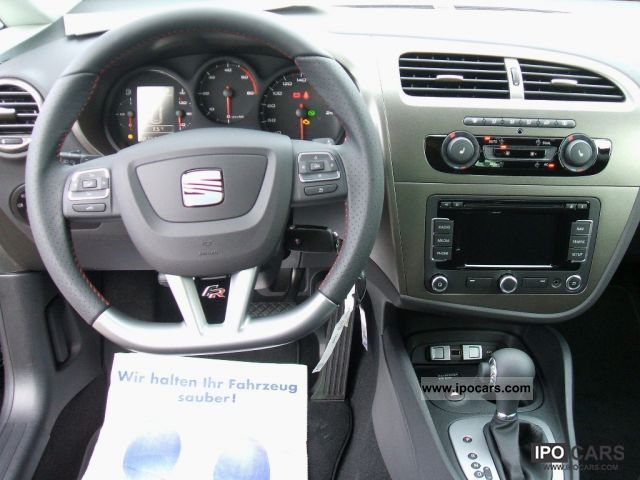 2012 seat leon fr 2 0 tdi dsg navi xenon shz pdc. Black Bedroom Furniture Sets. Home Design Ideas