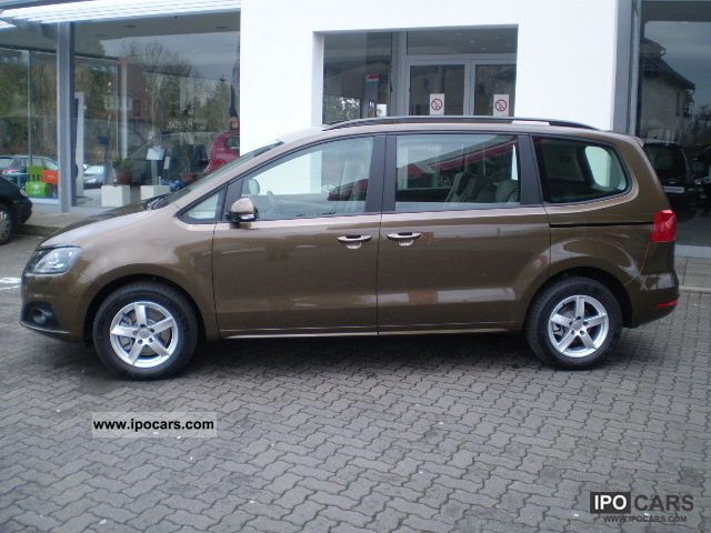 2012 seat alhambra 7 seater car photo and specs. Black Bedroom Furniture Sets. Home Design Ideas