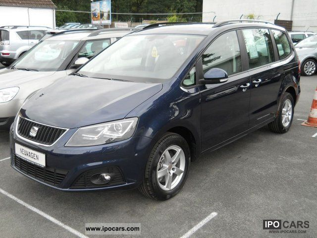 2012 Seat Alhambra 20 Tdi Style Business Plus Today Car Photo