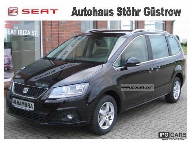 2012 Seat  Alhambra 2.0 TDi Style Demonstration Van / Minibus Demonstration Vehicle photo