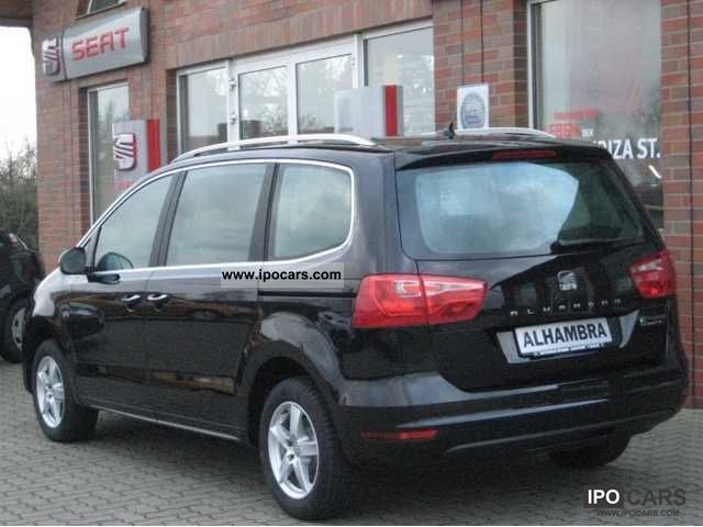 2012 Seat Alhambra 20 Tdi Style Demonstration Car Photo And Specs