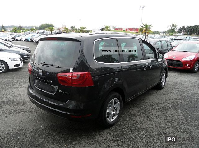 2012 seat alhambra 2 0 tdi 140 style 7pl car photo and specs. Black Bedroom Furniture Sets. Home Design Ideas