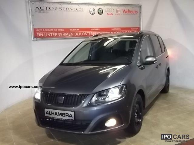 2012 Seat Alhambra 20 Tdi Style Bixenon Behontscheibe Car