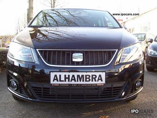 2012 Seat  Alhambra 2.0 TDi DSG, Sport Package Ecomotive Van / Minibus Demonstration Vehicle photo