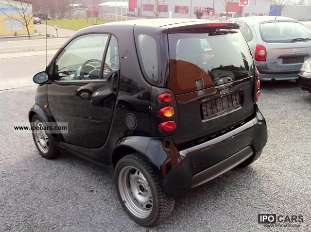 2003 smart smart fortwo pure automatic euro4 car. Black Bedroom Furniture Sets. Home Design Ideas