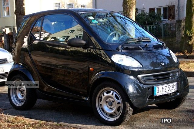 2001 Smart Pure Car Photo And Specs