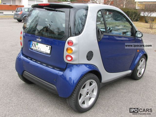 1999 Smart Passion Special Model Bluemotion Car Photo