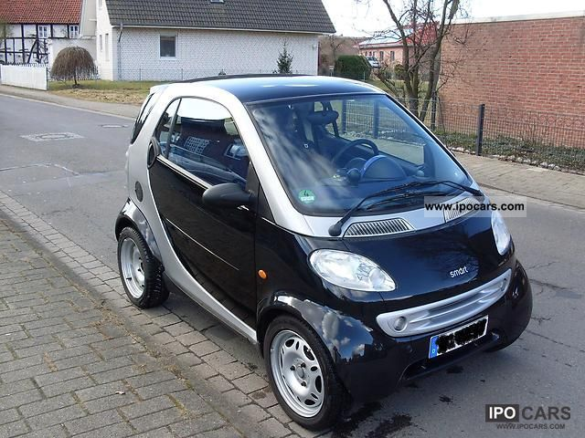 2000 smart rims winter tires glass roof air car photo and specs. Black Bedroom Furniture Sets. Home Design Ideas