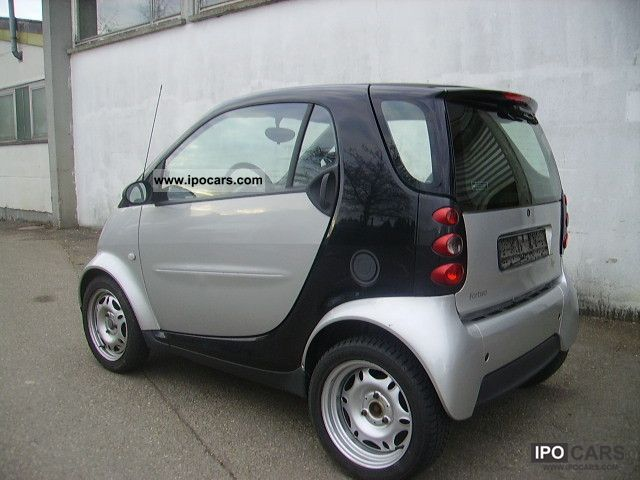 2006 smart smart fortwo pure style falo portugues car photo and specs. Black Bedroom Furniture Sets. Home Design Ideas