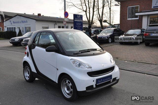 2008 smart smart fortwo coupe pure micro hybrid drive car photo and specs. Black Bedroom Furniture Sets. Home Design Ideas