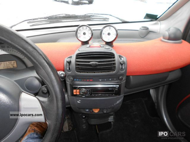 2005 Smart Fortwo Passion Coupe Steering Wheel Controls Car Photo
