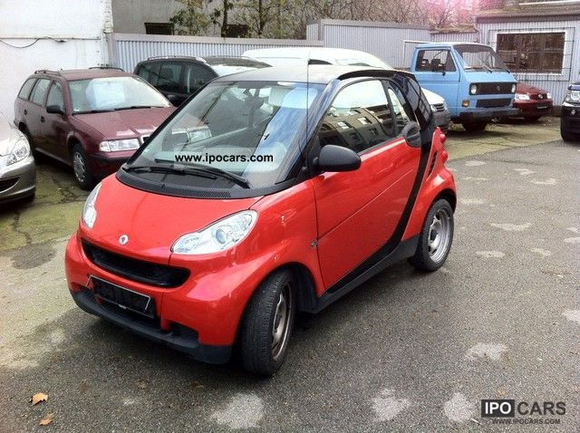 2008 smart smart fortwo pure coupe car photo and specs. Black Bedroom Furniture Sets. Home Design Ideas