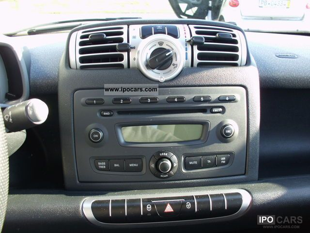2008 Smart Smart Fortwo 451 New Model Orig Radio
