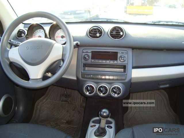 2006 smart forfour 1 5 diesel car photo and specs. Black Bedroom Furniture Sets. Home Design Ideas