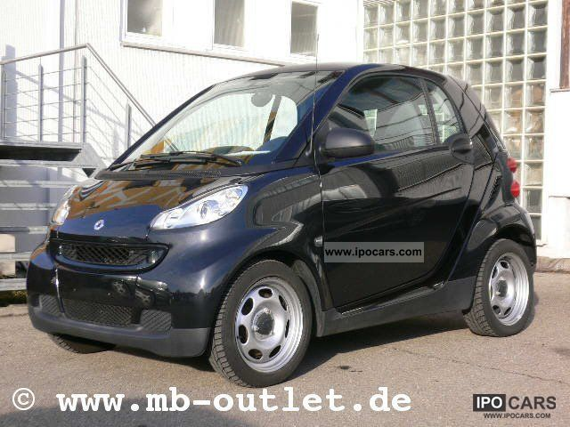 2010 Smart  smart fortwo coupe pure micro hybrid drive Small Car Used vehicle photo