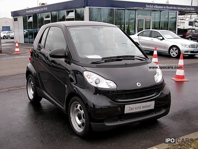 2010 smart fortwo pure coupe mhd full roof eu5 car photo and specs. Black Bedroom Furniture Sets. Home Design Ideas