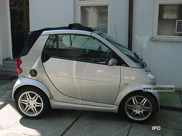 2004 smart brabus servolkg car photo and specs. Black Bedroom Furniture Sets. Home Design Ideas