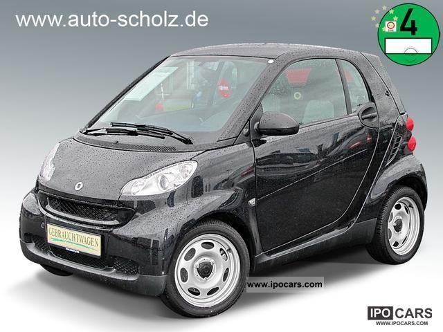 2010 smart fortwo coupe pure micro hybrid car photo and specs. Black Bedroom Furniture Sets. Home Design Ideas