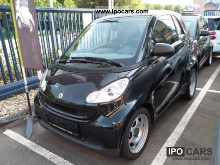 2010 smart coupe 1 0 mhd pure 61ch car photo and specs. Black Bedroom Furniture Sets. Home Design Ideas