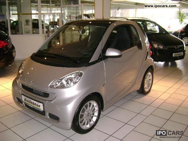 2011 smart smart fortwo passion softouch navi air. Black Bedroom Furniture Sets. Home Design Ideas