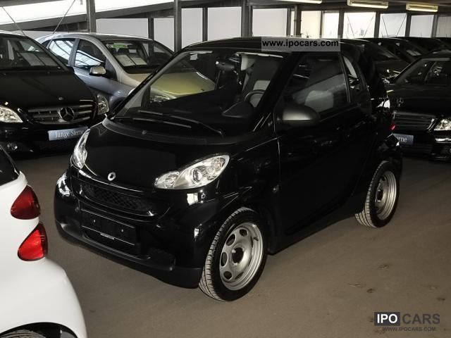 2011 Smart Fortwo Mhd Panoramic Roof Air Softouch Black Black Car Photo And Specs