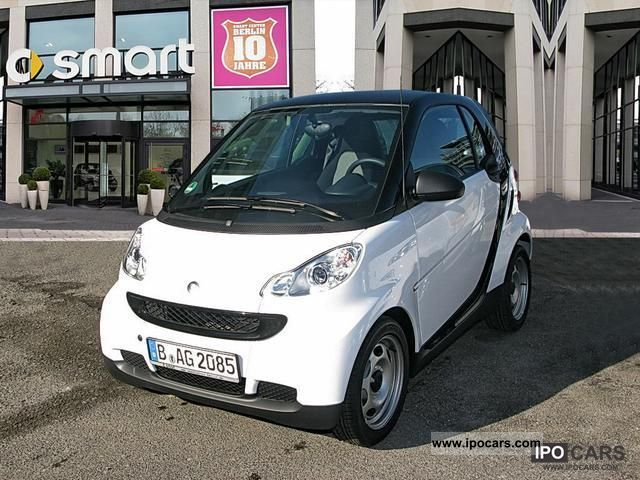 2011 smart fortwo coupe 45 kw mhd pure car photo and specs. Black Bedroom Furniture Sets. Home Design Ideas